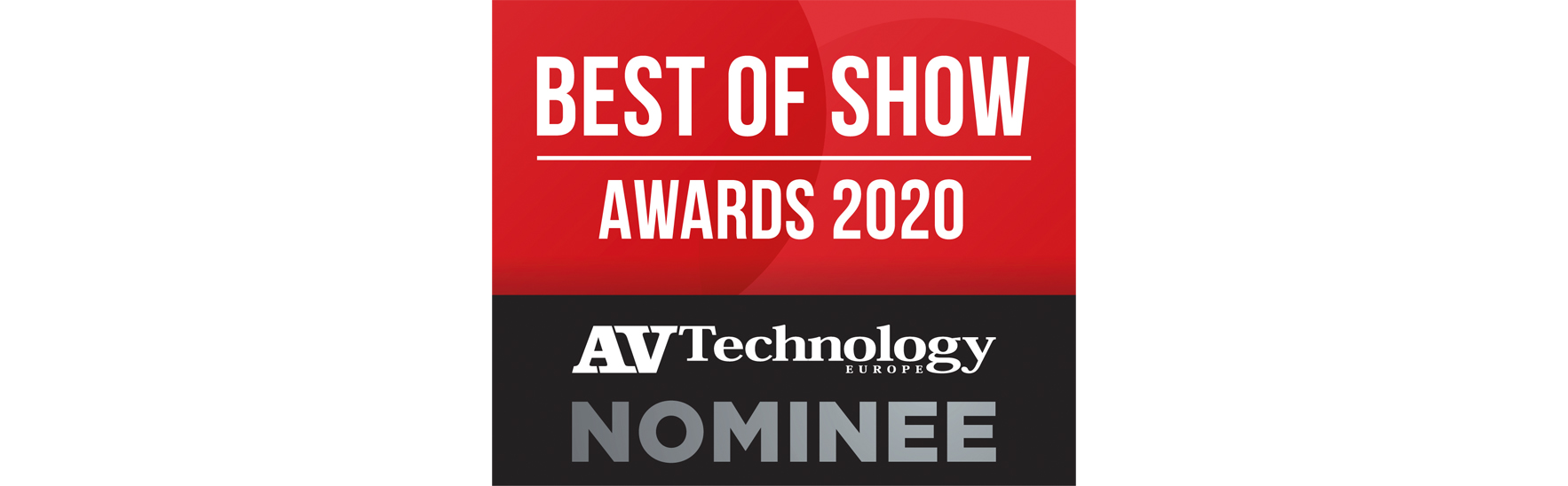 ISE Best of Show Awards 2020