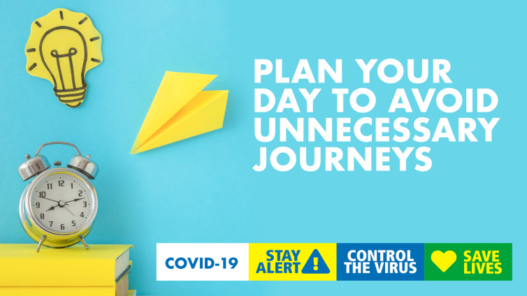 Plan your day to avoid unnecessary journeys poster thumbnail