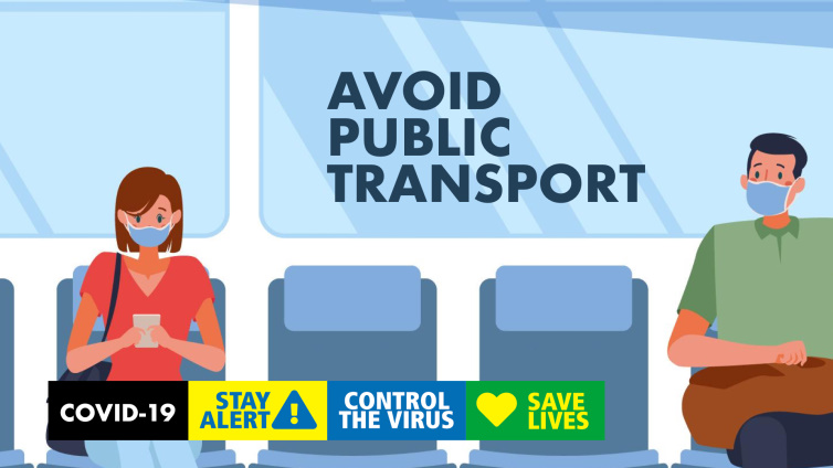 Avoid public transport poster thumbnail