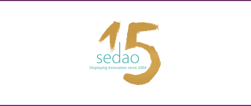 Sedao Celebrates 15 years of Displaying Innovation