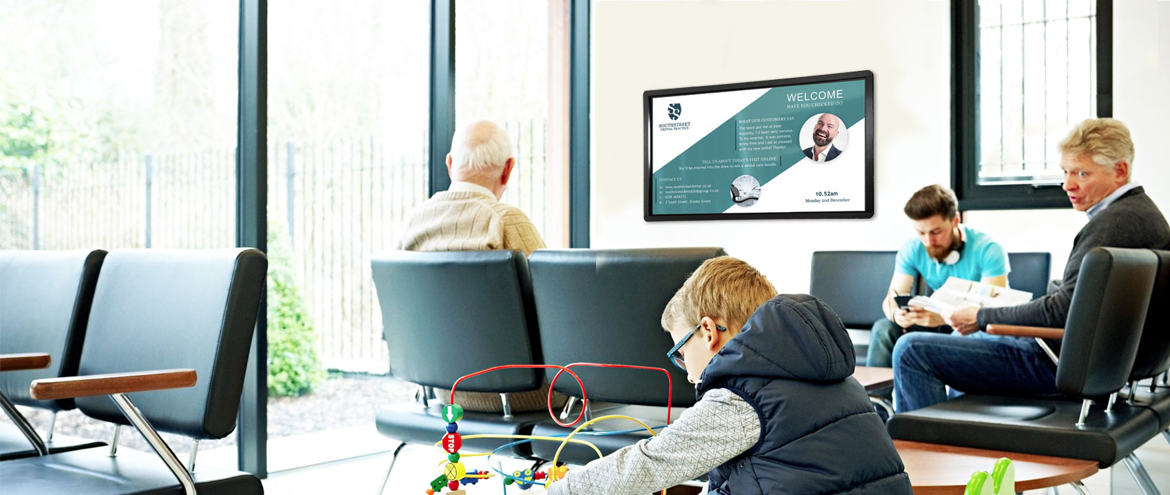 Improving the Health Sector Patient Experience with Digital Signage